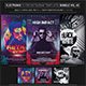 Electro Music Flyer/Instagram Bundle Vol. 45 - GraphicRiver Item for Sale