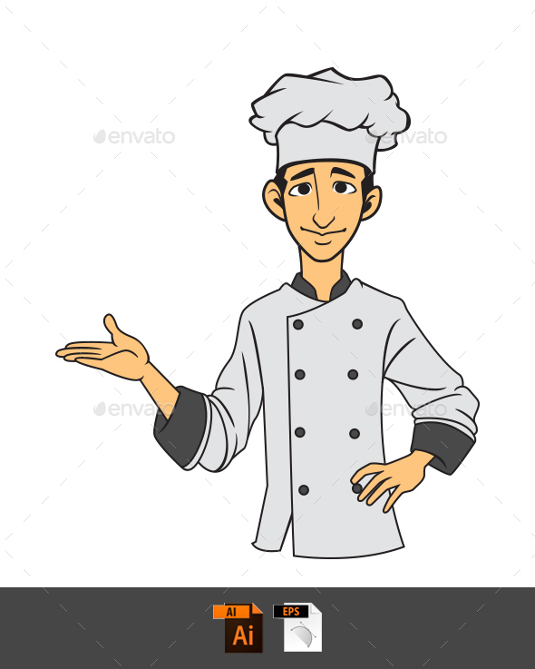 Chef Illustration - People Characters