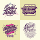 Typography Poster And Badges Vol 3 - GraphicRiver Item for Sale