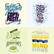 Typography Poster And Badges Vol 4 - GraphicRiver Item for Sale