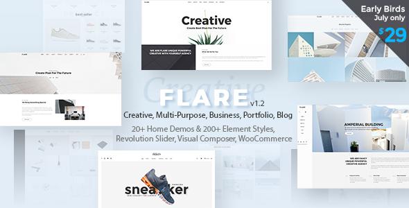 Multi-Purpose Flexible WordPress Theme | Flare