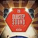 Dubstep Sound Flyer / Poster - GraphicRiver Item for Sale