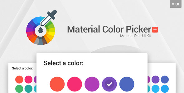 Material Color Picker Plus - CodeCanyon Item for Sale