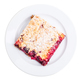 Delicious cherry pie with powdered sugar. - PhotoDune Item for Sale