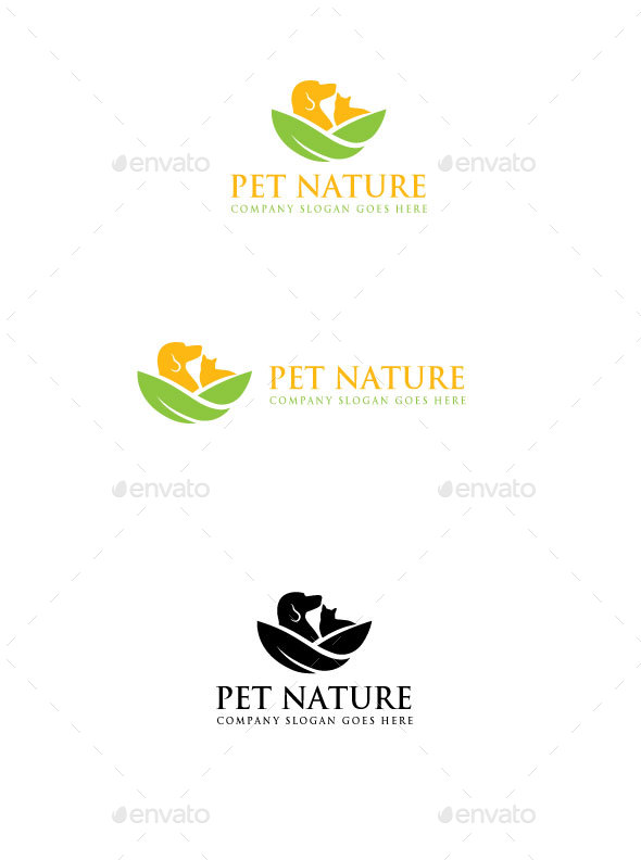 GraphicRiver Pet Nature Logo 20339914