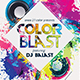 Color Blast Flyer - GraphicRiver Item for Sale