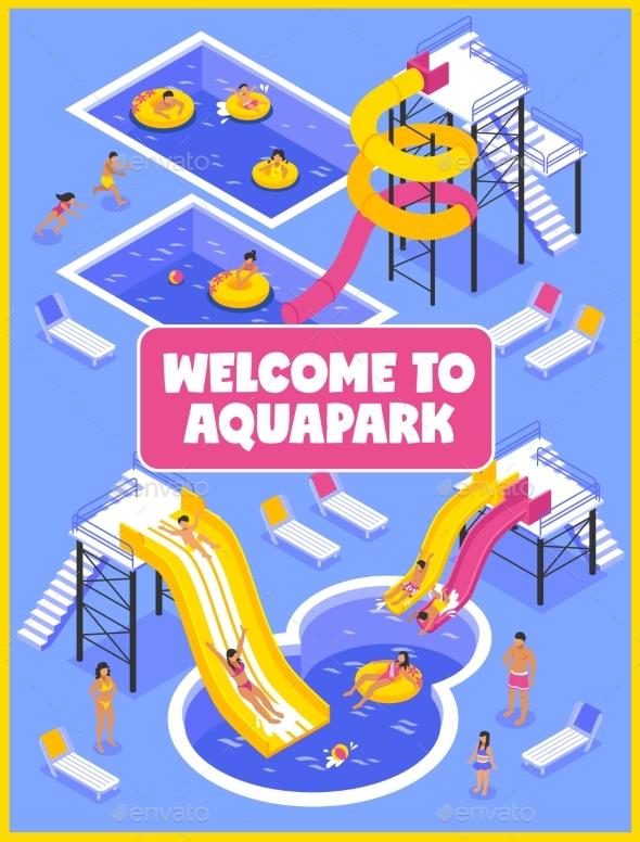 GraphicRiver Aqua Park Poster 20340572