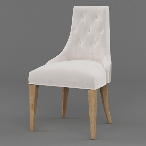 Vray Ready Wooden Chair - 3DOcean Item for Sale