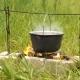 Touristic Cauldron on a Fire