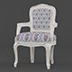 Vray Ready Royal Wooden Arm Chair