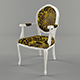 Vray Ready Royal Arm Chair