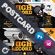 Security System Postcard Templates - GraphicRiver Item for Sale