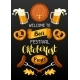 Oktoberfest. Welcome To Beer Festival. Invitation - GraphicRiver Item for Sale