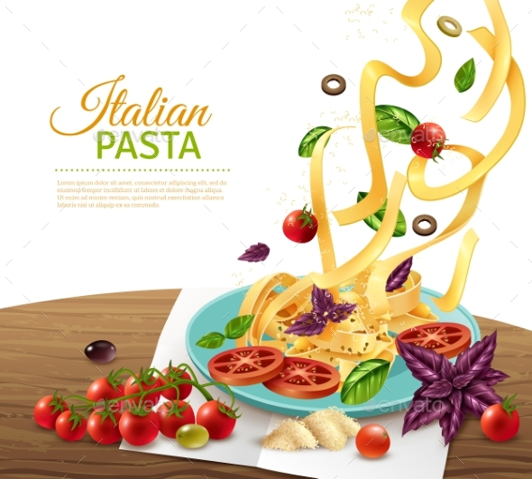 Pasta Concept Poster - Food Objects