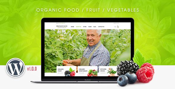 FreshFood - Multi Store Responsive WordPress Theme