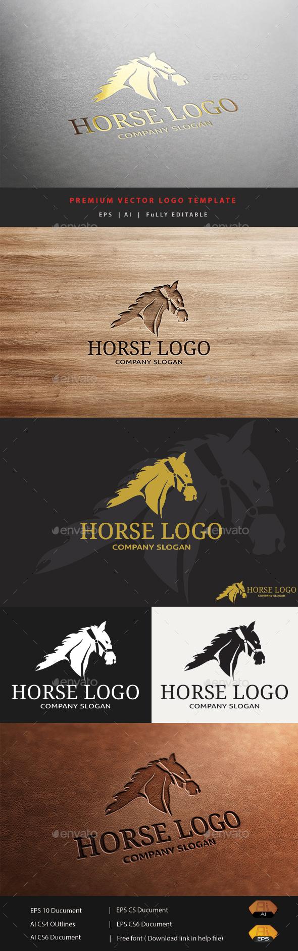 Horse Logo V.1 - Animals Logo Templates