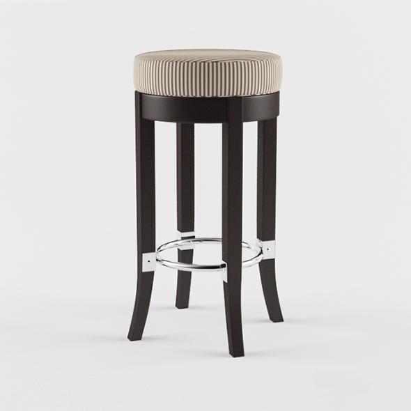 Vray Ready Modern Bar Chair - 3DOcean Item for Sale