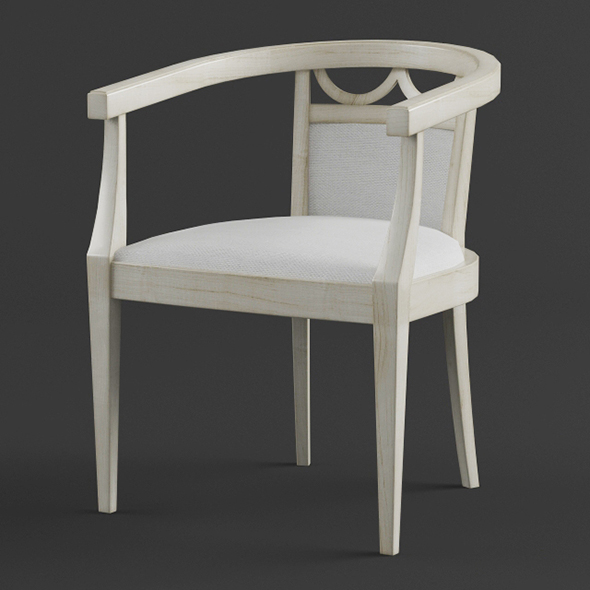 Vray Ready Modern Garden Chair - 3DOcean Item for Sale