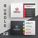 Business Card Bundle 38 - GraphicRiver Item for Sale