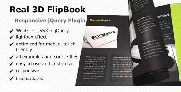 Download Real3D FlipBook jQuery Plugin nulled version