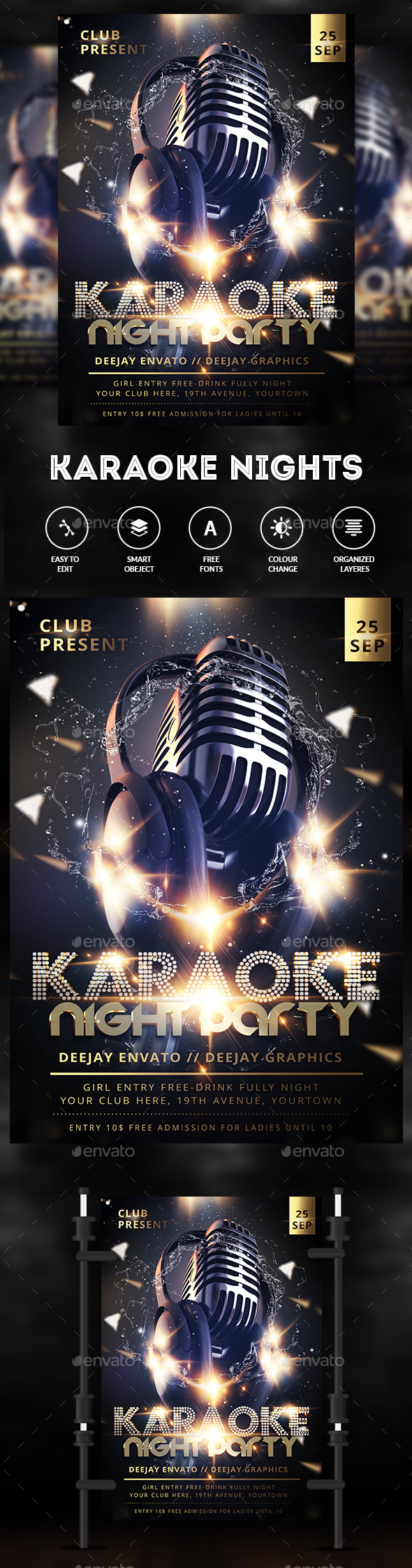 Karaoke Party - Clubs & Parties Events