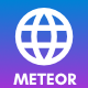 Meteor - Creative Website template for agency, business and portfolio