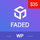 Faded - Responsive App Landing Page WordPress Theme + RTL - ThemeForest Item for Sale