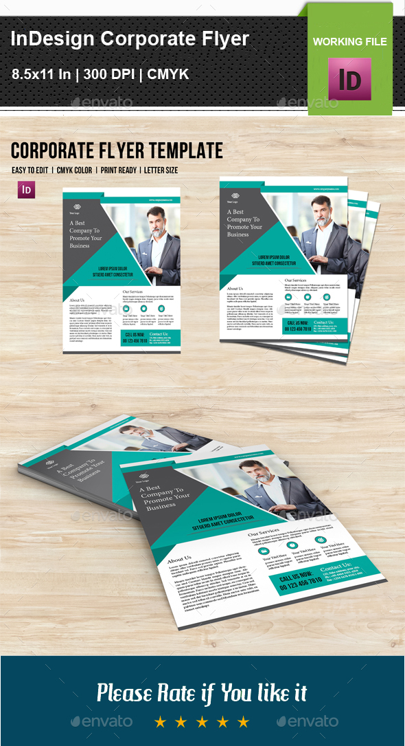 InDesign Corporate Flyer V07 - Corporate Flyers