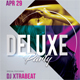 Deluxe Dj Party Flyer 02 - GraphicRiver Item for Sale