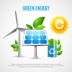 Green Energy Realistic Vector Illustration - GraphicRiver Item for Sale
