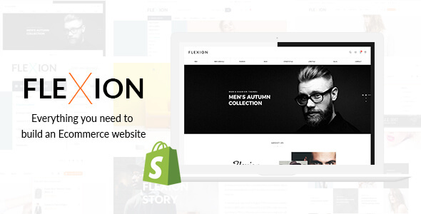 Image of Flexion - Creative Fashion Store Responsive Shopify Theme - Sections Drag & Drop Builder