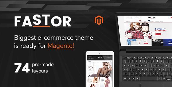Fastor - Premium Magento 2 Theme