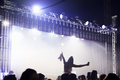 Woman Sitting On Friend's Shoulders At Music Festival - PhotoDune Item for Sale