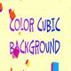Color Cubic Background