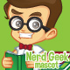 Nerd Geek Vector Set