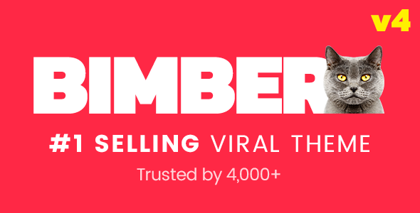 Bimber - Viral Magazine WordPress Theme - Blog / Magazine WordPress