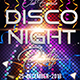 Disco Night Flyer - GraphicRiver Item for Sale