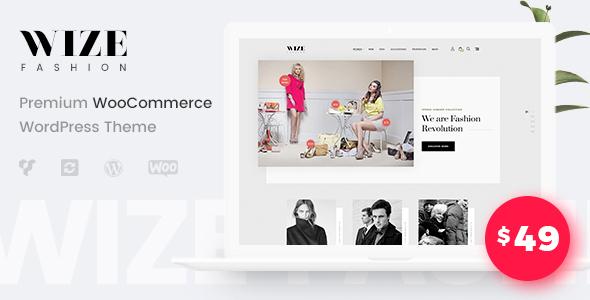 WooCommerce Multipurpose Responsive WordPress Theme - WizeStore