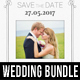 Wedding Invitation Bundle 2 - GraphicRiver Item for Sale