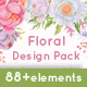 Floral Design Pack (Watercolor & Pastel)