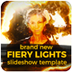 Fiery Lights Slideshow - VideoHive Item for Sale