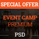 Event Camp - Premium Event Conference PSD Template