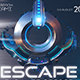 Escape EDM Banner - GraphicRiver Item for Sale