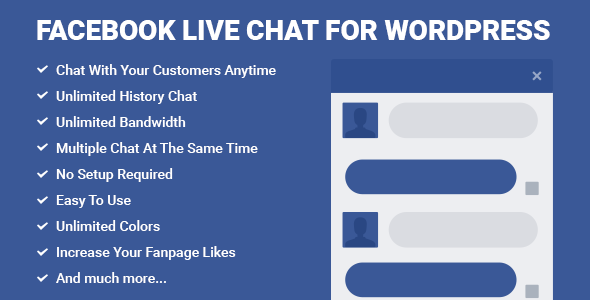 Facebook Live Chat for WordPress - CodeCanyon Item for Sale
