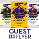 Guest DJ Flyer