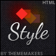 Style  | Premium Non-responsive One Page Site Template - ThemeForest Item for Sale