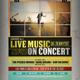 Live Concert Flyer / Poster - GraphicRiver Item for Sale