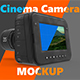 Magic Cinema Camera Mockup