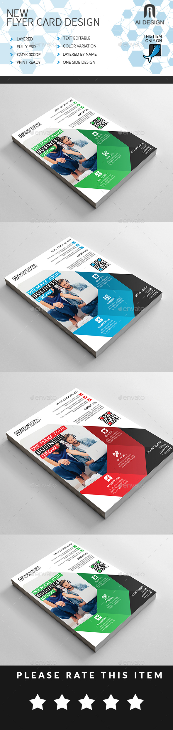 GraphicRiver Business Flyer Ad 20345727