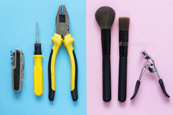 Men vs. Women - Stock Photo - Images